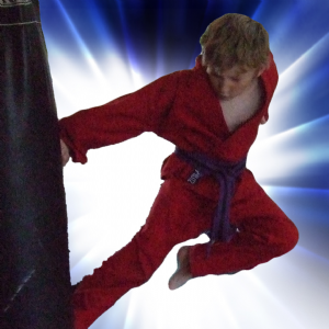 Red Karate Suits